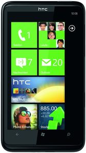 HTC HD7 with branding