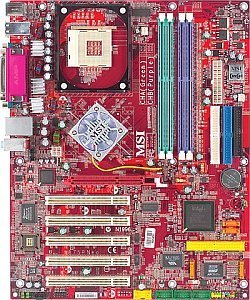 MSI 875P Neo-FISR, i875P (dual PC-3200 DDR) (MS-6758-030)
