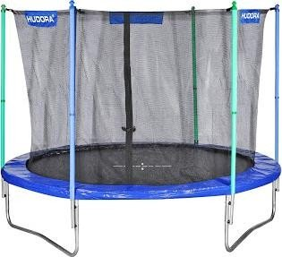 Hudora Fitness trampoline with safety net 300cm blue (65312)