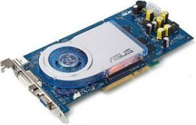ASUS AGP-N6800XT/V9999LE/TD GeForce 6800 LE, 128MB DDR, VGA, DVI, TV-out (90-C1VDZ5-GUAY)
