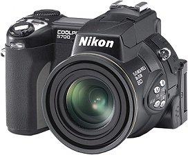 Nikon Coolpix 5700, inkl. 1GB Microdrive