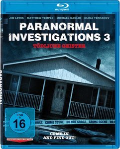 Paranormal Investigations 3 - deadly Geister (Blu-ray)
