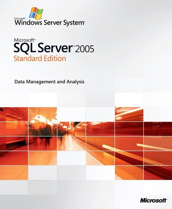 Microsoft: SQL Server 2005 - Standard Edition, inkl 5 Clients (deutsch) (PC) (228-03933)