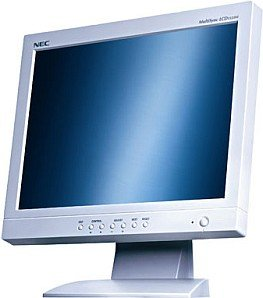 "NEC MultiSync LCD1535VI, 15"", 1024x768, analog/digital, weiß"
