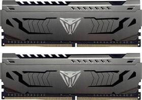 Patriot Viper Steel DIMM Kit 16GB, DDR4-3600, CL17-19-19-39 (PVS416G360C7K)