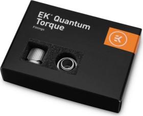 """EK Water Blocks Quantum Line EK-Quantum Torque STC 10/16 Fitting 1/4"""" auf 16/10mm, Satin Titanium, 6er-Pack (3831109824542)"""