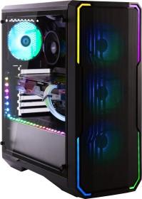 BitFenix Enso Mesh 4ARGB schwarz, Glasfenster (BFC-ESM-150-KKWGK-4A)