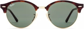 Ray-Ban RB4246 Clubround 51mm havana/green (RB4246-990)