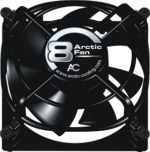 Arctic Cooling Arctic Fan 8, 80x80x38mm, 2000rpm, 48m³/h, 20dB(A)
