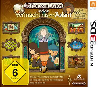 professor Layton and the legacy of Aslant (3DS)
