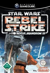 Star Wars: Rebel Strike - Rogue Squadron 3 (German) (GC)