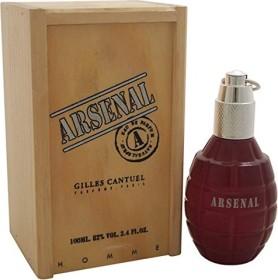 Gilles Cantuel Arsenal Grey Eau De Parfum, 100ml