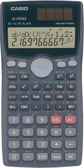Casio fx-115MS (FX-115MS-SC-UH)