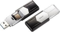 Apacer AH650 Fingerprint silber 32GB, USB-A 3.0 (AP32GAH650S-1)