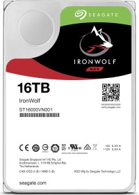 Seagate IronWolf NAS HDD 16TB, SATA 6Gb/s (ST16000VN001)
