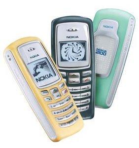 Nokia 2100, Vodafone D2 (verschiedene Verträge)