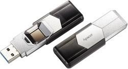 Apacer AH650 Fingerprint silber 64GB, USB-A 3.0 (AP64GAH650S-1)