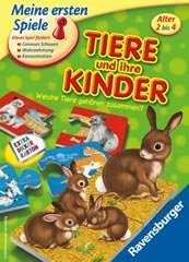 animals and ihre children