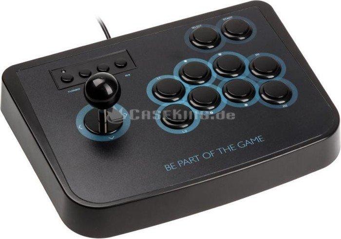 Lioncast Arcade Fighting stick, USB (10159) -- © caseking.de