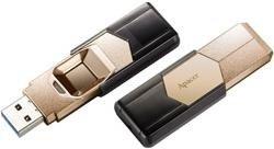Apacer AH650 Fingerprint gold 32GB, USB-A 3.0 (AP32GAH650C-1)