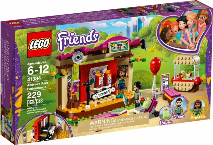 LEGO Friends - Andreas Bühne im Park (41334)