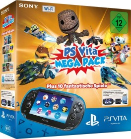 Sony PlayStation Vita Wi-Fi Mega Pack Bundle schwarz