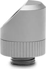 EK Water Blocks Quantum Line EK-Quantum Torque Rotary 45° Winkeladapter, Satin Titanium