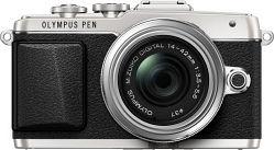 Olympus PEN E-PL7 silber mit Objektiv M.Zuiko digital 14-42mm II R (V205071SE000)