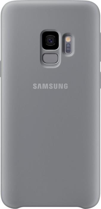Samsung Silicone Cover für Galaxy S9 grau (EF-PG960TJEGWW)