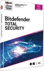 Softwin BitDefender Total Security 2020, 5 User, 18 Monate (deutsch) (Multi-Device)