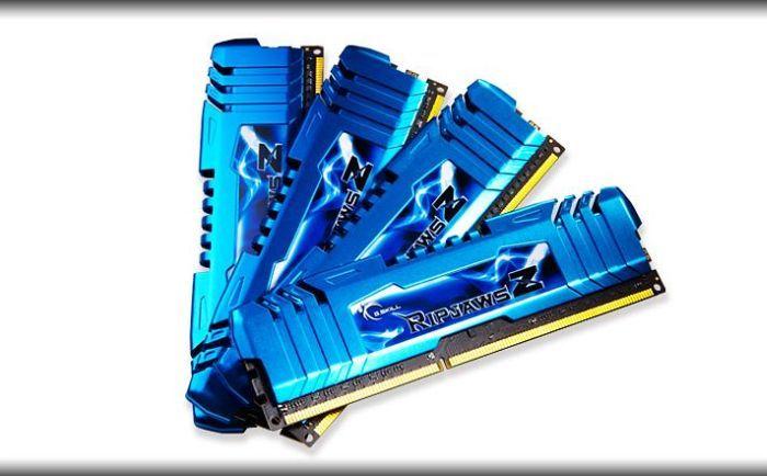 G.Skill RipJawsZ DIMM Kit 32GB, DDR3-2133, CL10-12-12-31 (F3-2133C10Q-32GZM)