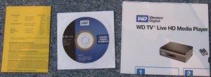 Western Digital WD TV HD Live media player (WDBAAP0000NBK)