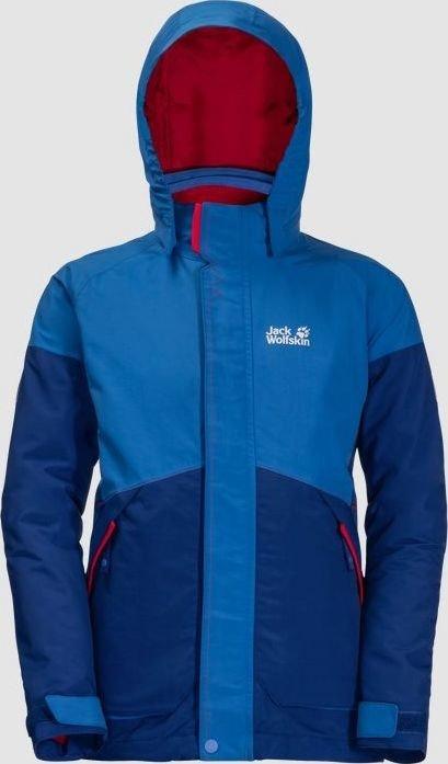 new styles for whole family buying now Jack Wolfskin Polar Wolf 3in1 Jacke coastal blue (Junior) (1605883-1201)