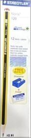 Staedtler Noris 120 2B graphit, 12er-Pack (120-0)