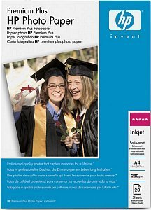 HP C6951A Premium Plus photo paper matte A4, 280g, 20 sheets