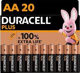 Duracell Plus Power Mignon AA, 20er-Pack