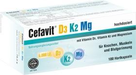 Cefak Cefavit D3 K2 Mg 4.000 I.E. Hartkapseln, 100 Stück