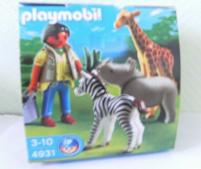 playmobil Ostereier - Pflegerin mit Tierbabys (4931) -- via Amazon Partnerprogramm