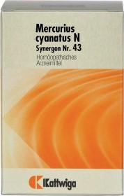 Synergon Nr. 43 Mercurius cyanatus N Tabletten, 200 Stück