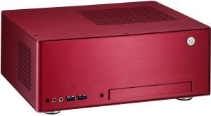 Lian Li PC-Q09R red, 110W external, mini-ITX