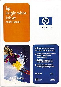 HP C1825A Inkjet paper, bright white, A4, 90g, 500 sheets
