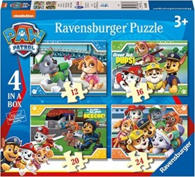 Ravensburger Puzzle Paw Patrol 4 in a Box (06936)