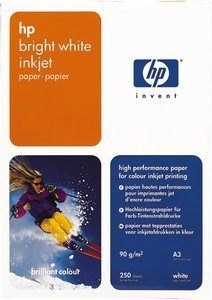 HP C1858A Inkjet paper, bright white, DIN A3, 200 sheets