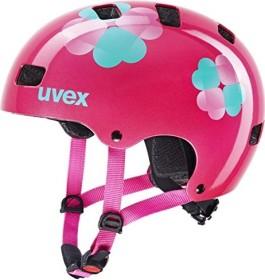UVEX Kid 3 Kinderhelm pink flower