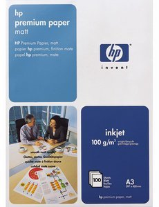 HP C1856A Premium Inkjet paper, DIN A3, 100 sheets