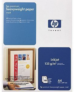 HP C1853A Premium Inkjet paper, A4, 135g, 100 sheets