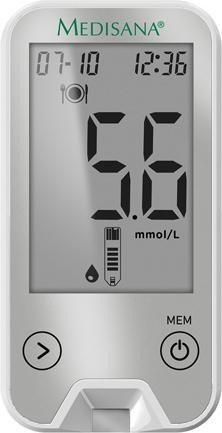 Medisana MediTouch 2 connect (mmol/L) blood glucose meter (79046)