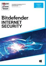 Softwin BitDefender Internet Security 2020, 3 User, 18 Monate (deutsch) (PC)