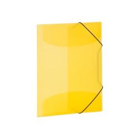 Herma Sammelmappe A4 transparent gelb (19502)