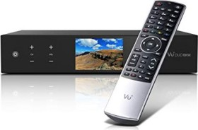 VU+ Duo 4K SE BT, 1x DVB-C FBC, 1x DVB-T2 Dual, festplattenvorbereitet